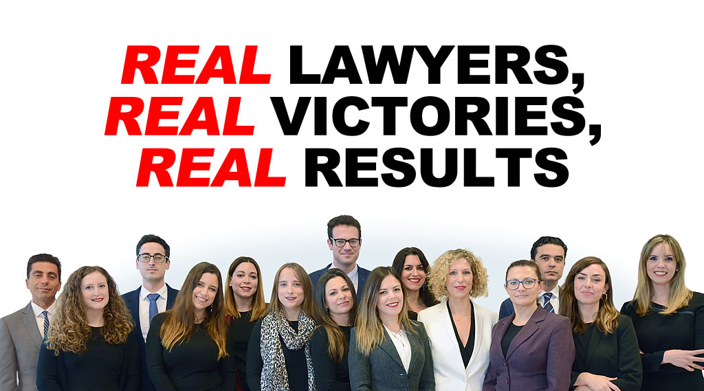 REAL LAWYERS, REAL VICTORIES, REAL RESULTS